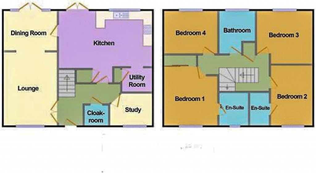Floorplan for Walkers Drive, Weston Village - SUBSTANTIAL EXECUTIVE HOME
