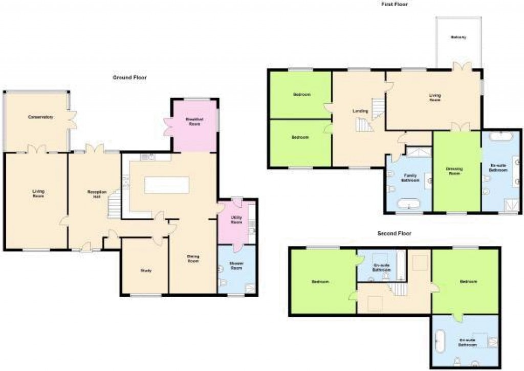 Floorplan for West Wick, Weston-Super-Mare - SIMPLY OUTSTANDING