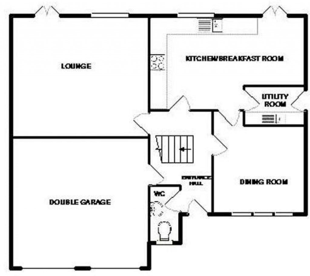 Floorplan for Blackthorn Close, Biddisham - FABULOUS 5 BED HOME