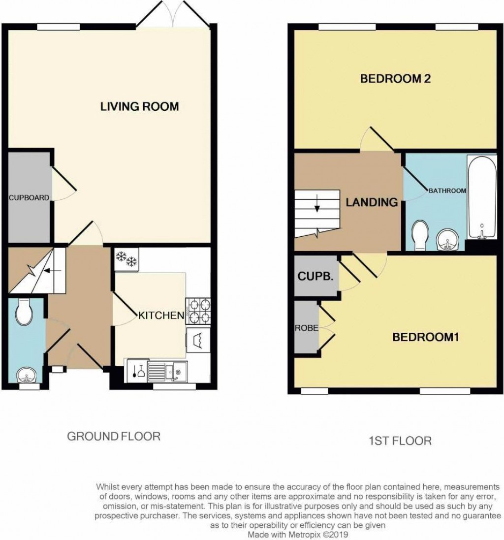 Floorplan for Scarf Drive, Locking Parklands -