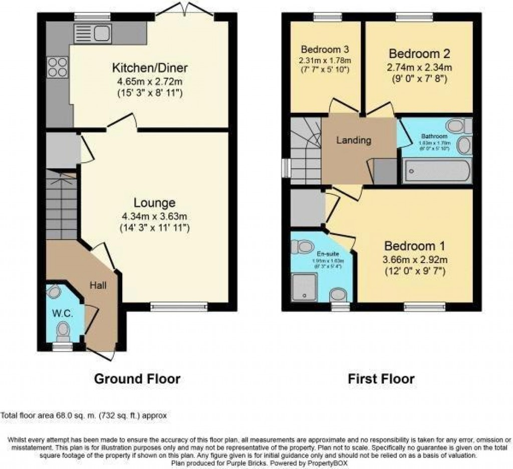 Floorplan for Dragonfly Walk, Haywood Village - SUPER SMART SEMI