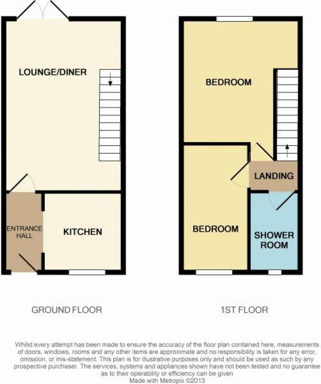 Floorplan for Caulfield Road, North Worle - GREAT VALUE!