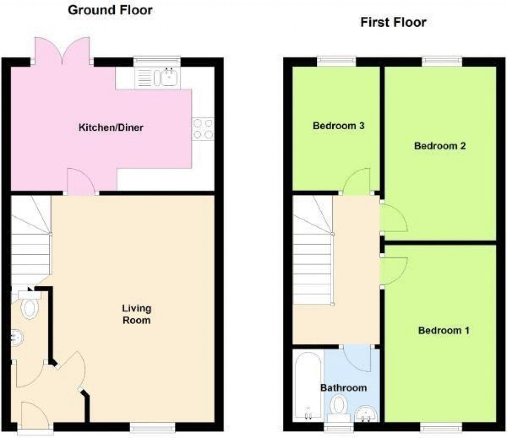 Floorplan for Griffen Road, Weston-Super-Mare - GREAT VALUE