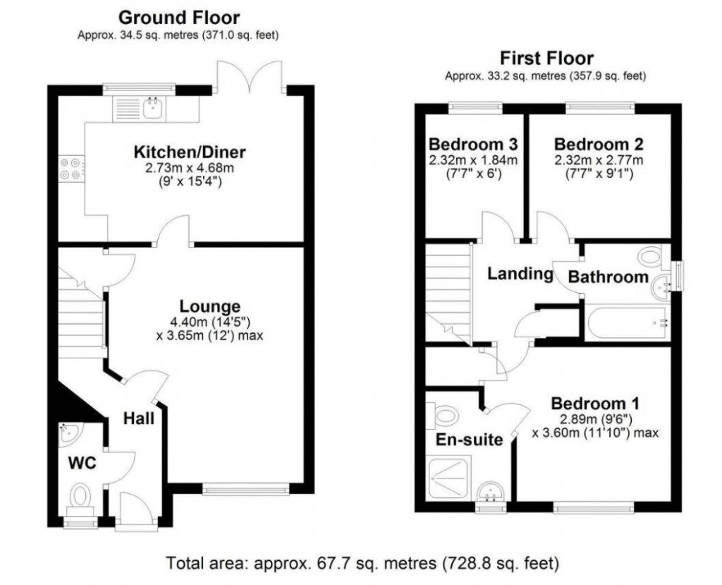 Floorplan for Wasp Way, Haywood Village - IMMACULATE HOME