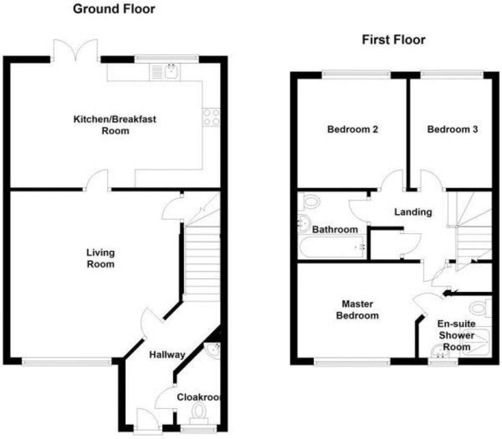 Floorplan for Piper Cross, Haywood Village - IMMACULATE & STYLISH